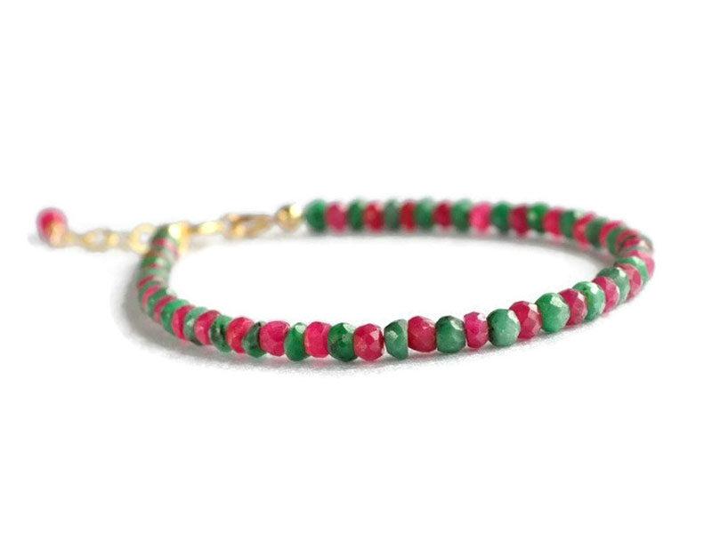 bratara rubin smarald