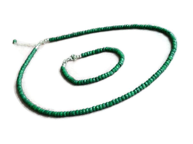 set bijuterii smarald