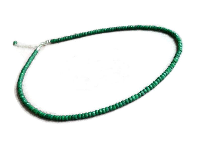 colier smarald