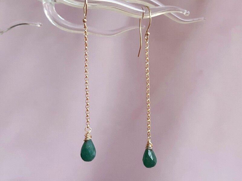 cercei smarald