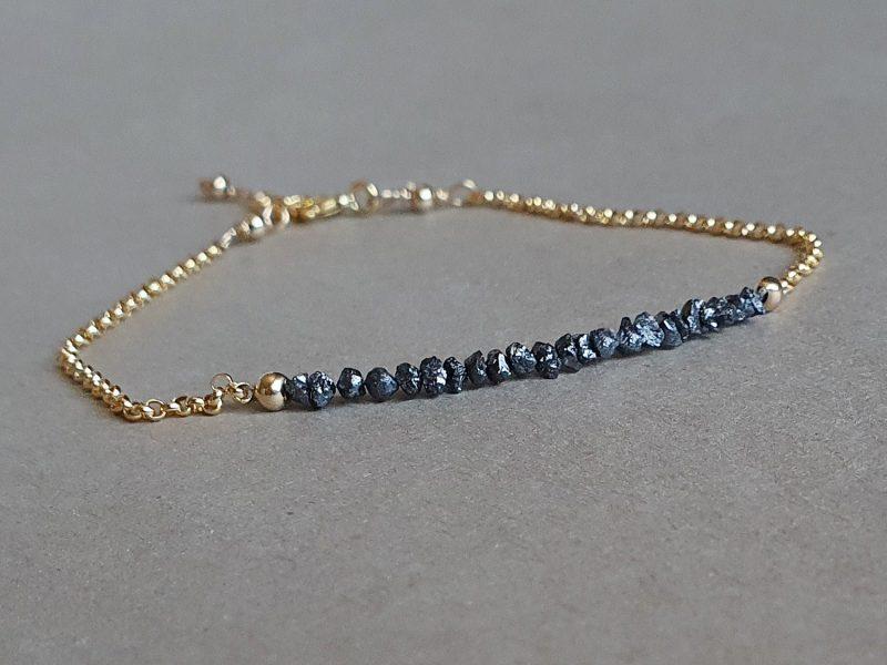 bratara diamante negre