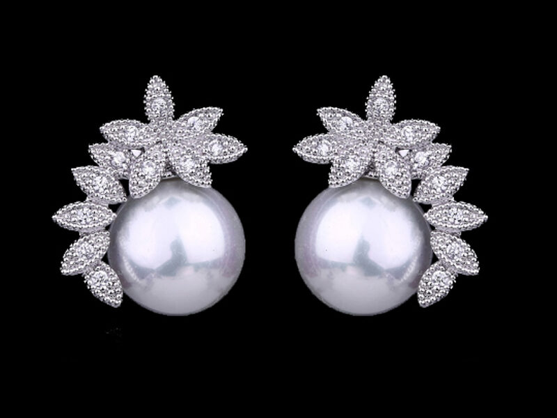 cercei perle, cercei mirese