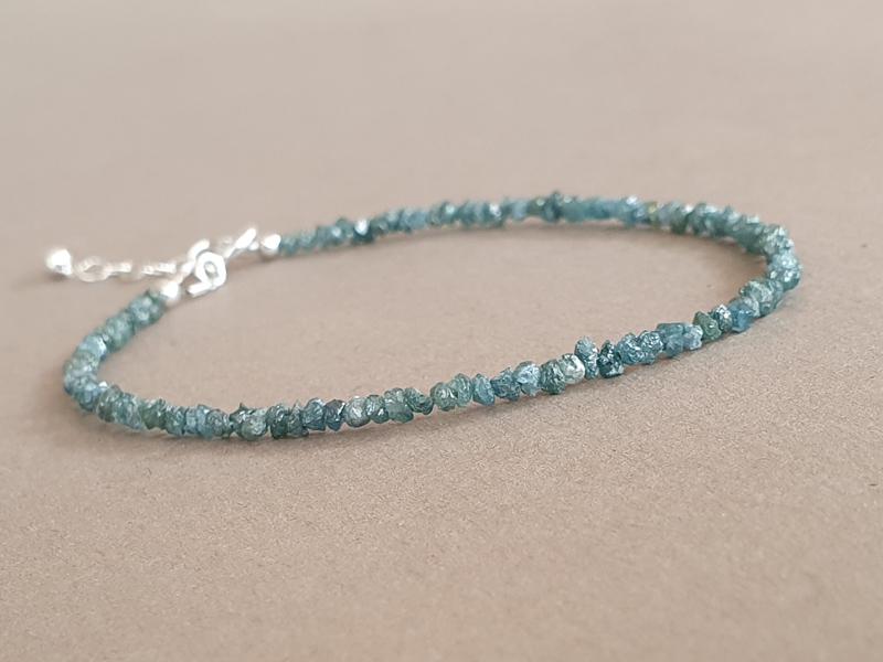 bratara diamante albastre brute