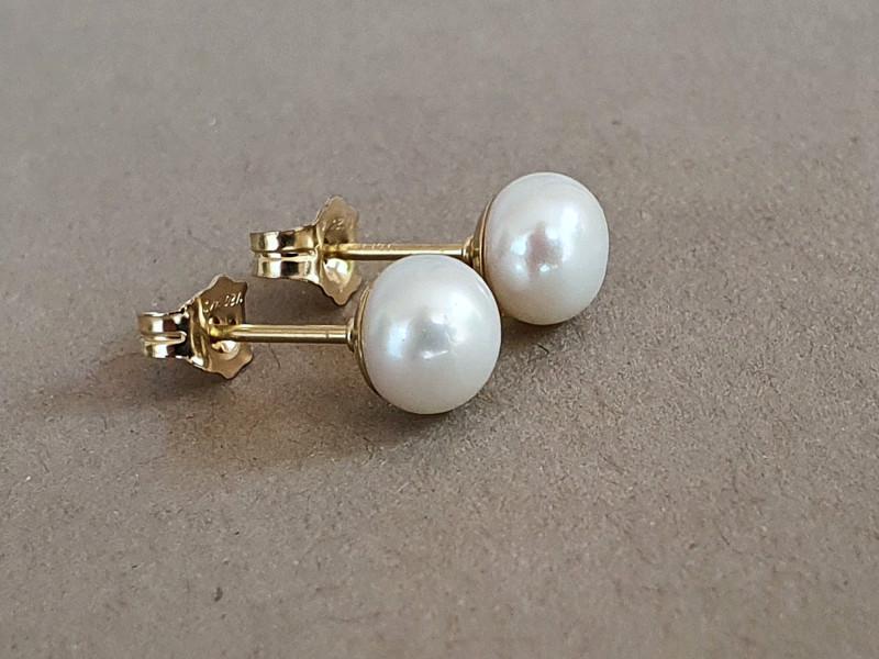 cercei perle surub