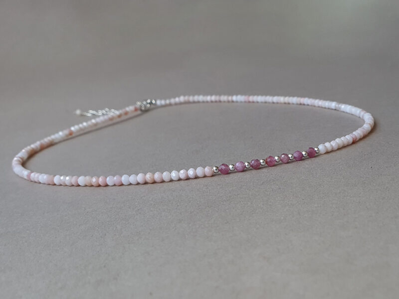 colier opal roz